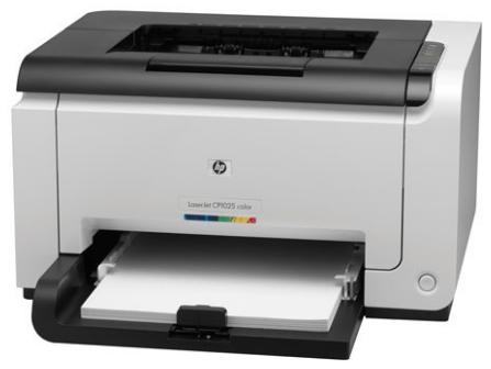 HP LaserJet Pro CP1025 Driver