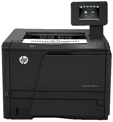 HP LaserJet Pro 400 Printer N404dw