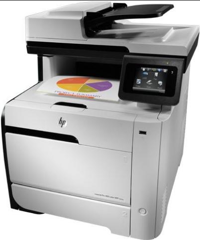 HP Color LaserJet Pro 400 M451dw Driver